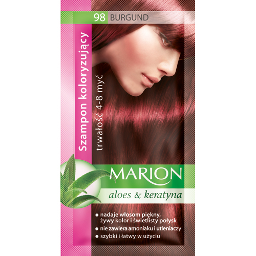 Marion Hair color shampoo in sachet (lasting 4-8 washes)